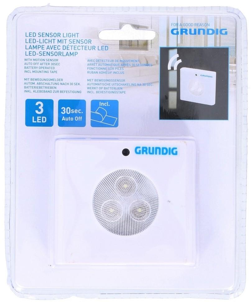 Grundig Grundig - LED Orientacyjne oświetlenie z czujnikiem 3xLED/3xAAA