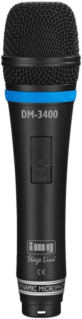 IMG IMG STAGELINE DM-3400 Mikrofon dynamiczny 16272