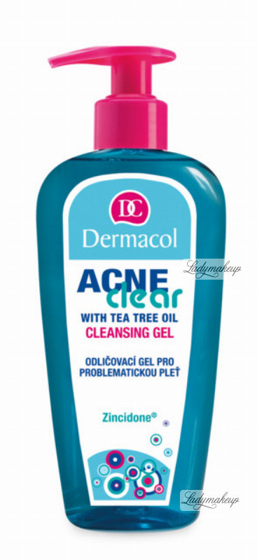 Dermacol Acne Clear - CLEANSING GEL - Żel do mycia twarzy do cery trądzikowej DERMCTR