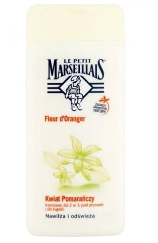 Le Petit Marseillais żel pod prysznic i do kąpieli kwiat pomarańczy 650ml