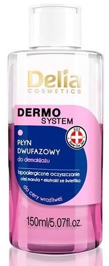 Delia Dwufazowy płyn do demakijażu 150ml 34893-uniw