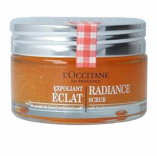 L'Occitane LOccitane LOccitane Exfoliance Radiance Scrub Corsican Pomelo peeling z ujednolicającą i rozjaśniającą skórę formułą 75 ml