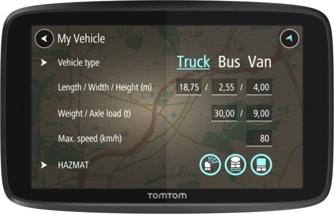 TomTom PROFESSIONAL 6250
