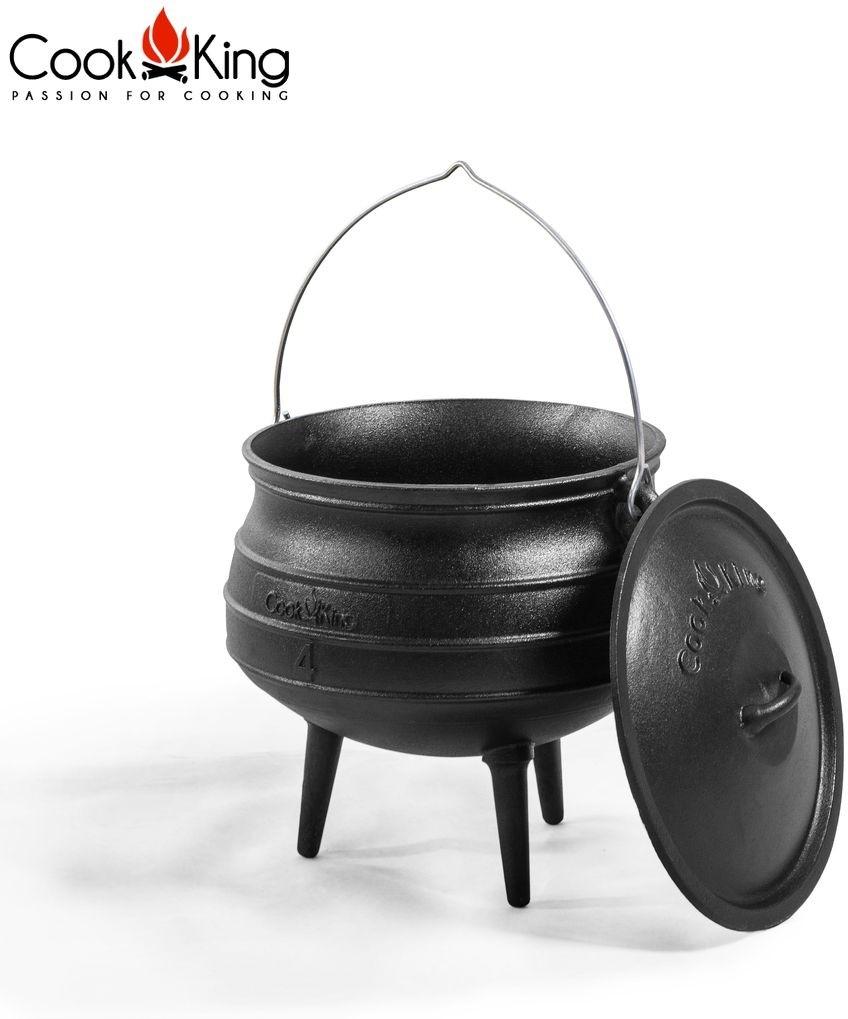 Cook King Kociołek afrykański żeliwny 9 l