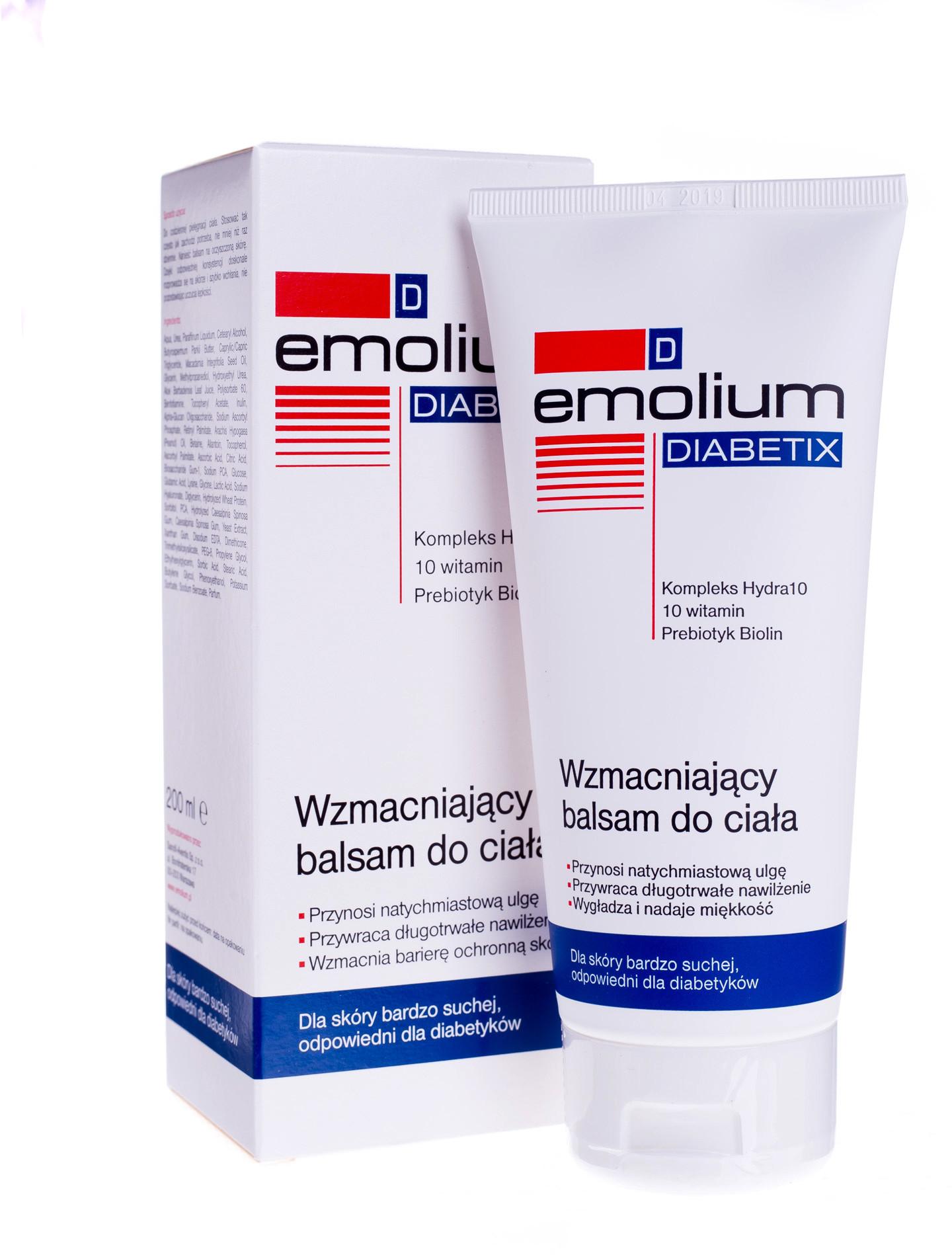 Emolium NEPENTES Diabetix wzmacniający balsam do ciała 200 ml