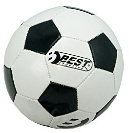 Best Sporting piłka nożna Superstar Classic, czarna/biała (857095)