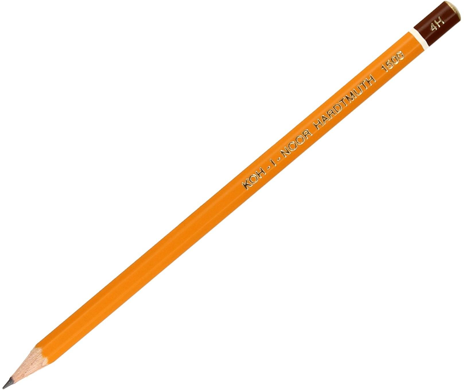 KOH I NOOR Ołówek techniczny 4H b/g KIN 1500