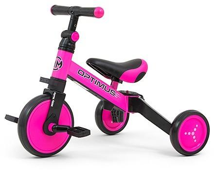 milly mally Milly Mally Rowerek 3w1 Optimus Pink