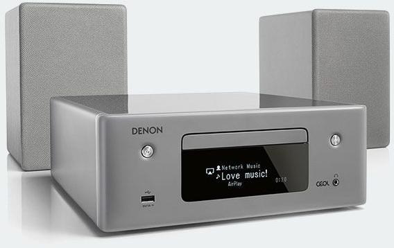 Denon CEOL N10 RCD-N10 (HF BT KM FLOW 2) Srebrny