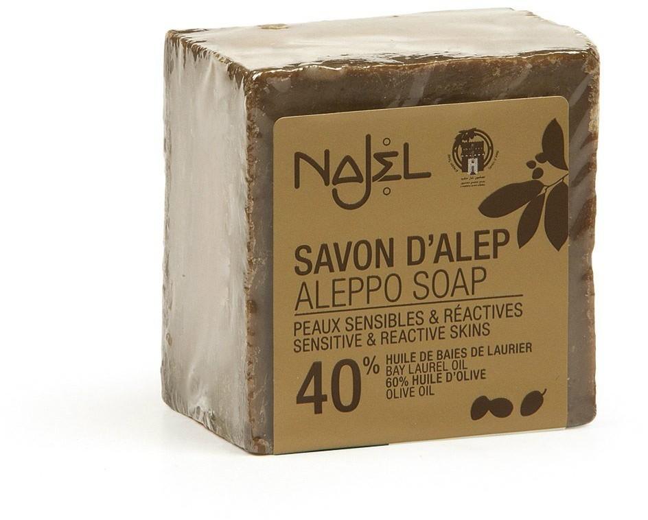 NAJEL mydło aleppo 40% oleju laurowego, 200 g