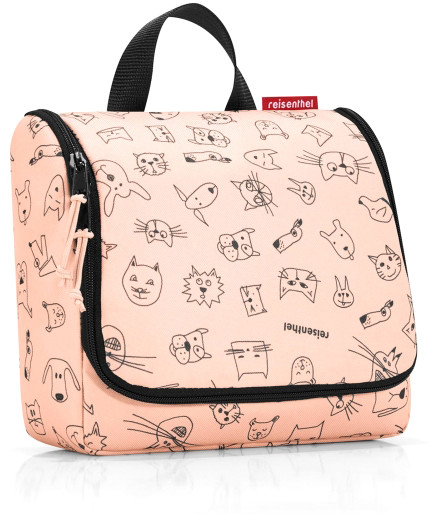 Reisenthel Kosmetyczka kids Toiletbag cats and dogs rose RWH3064