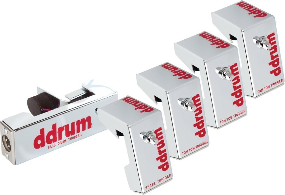 DDrum Trigger Chrome Elite zestaw triggerów
