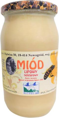 Miody Sznurowski miód Lipowy 1,1 kg - 15S_1568
