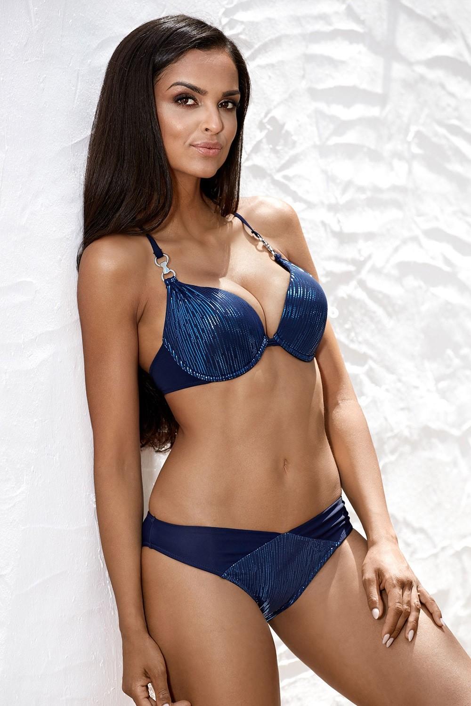 Lorin Dwuczęściowy kostium kąpielowy Shiny Blue