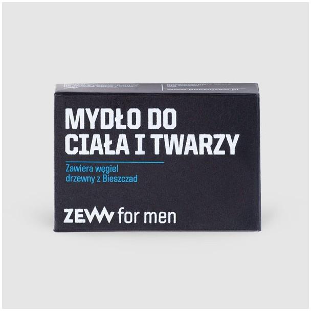 ZEW for Men ZEW for men Mydło do Ciała i Twarzy z węglem drzew 5906874538302