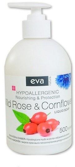Pollena Eva Mydło w płynie do rąk Dzika róża i chaber Hipoalergiczne 500 ml