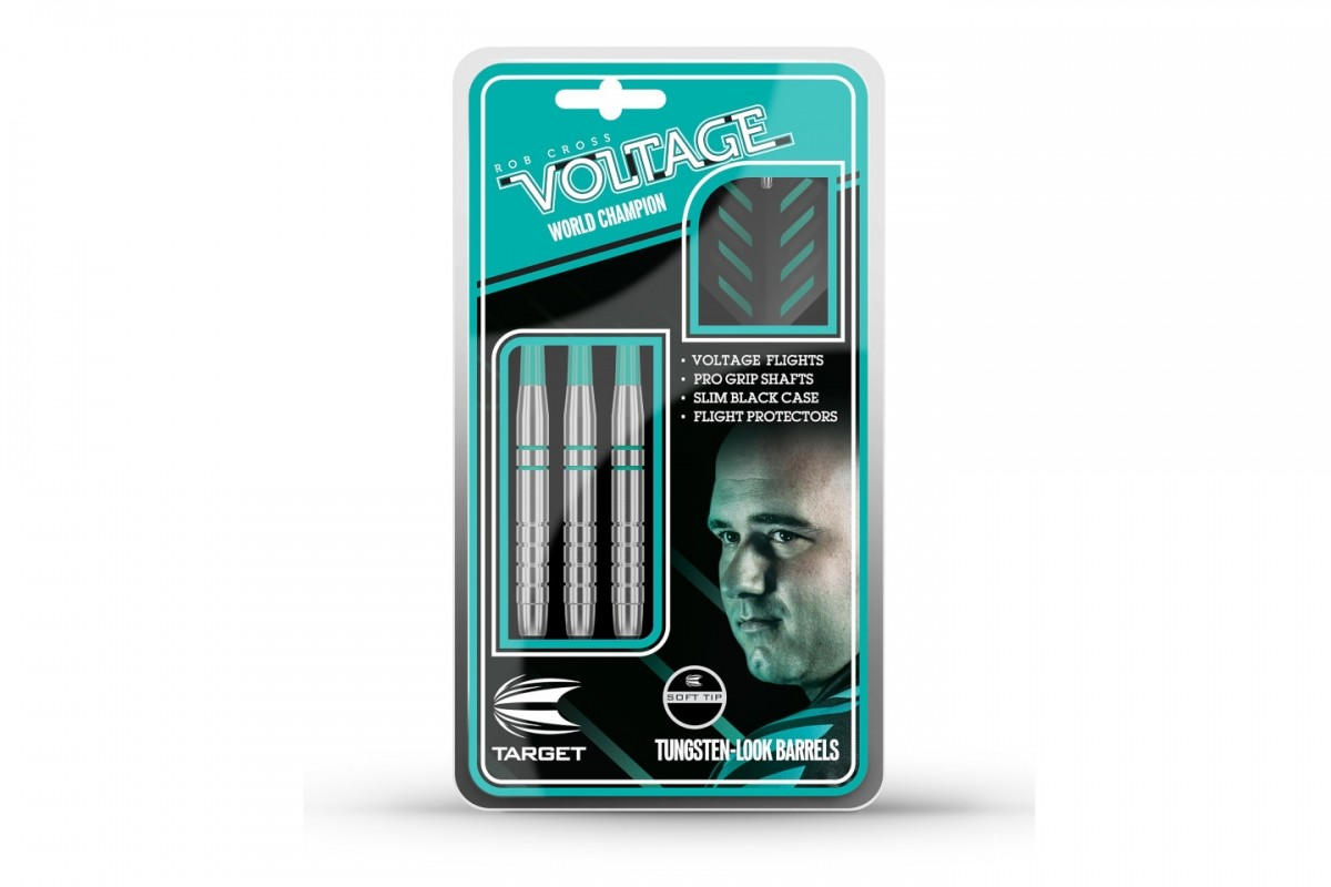Target Lotki Target Rob Cross Silver Voltage (steel tip) 100555