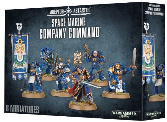 Games Workshop Space Marine Company Command (48-51) 99120101154