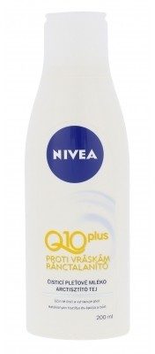 Nivea Nivea Q10 Plus mleczko do demakijażu 200 ml dla kobiet