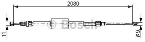 Opinie o BOSCH Linka hamulcowa, 1 987 477 787 - Bezpłatny zwrot do 30 dni, największy wybór produktów. 1987477787