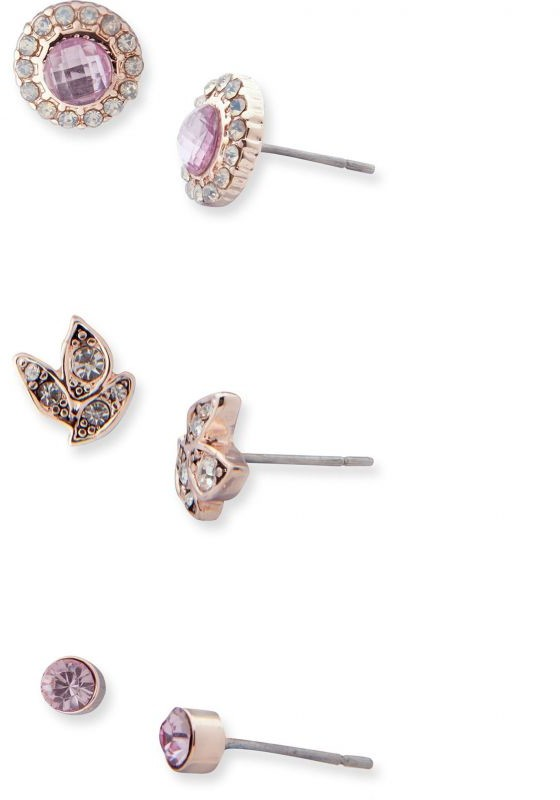 Lonna And Lilly Trio Stud Earrings 60477665-E50