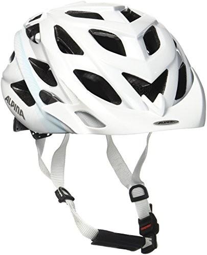 Alpina D-Alto kask rowerowy, biały, 5257 cm A9634.1.24_White-Blue-Silver_52-57