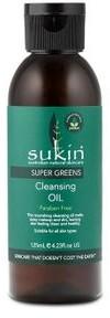 SUKIN Sukin SUPER GREENS Detoksykująco oczyszczający olejek do demakijażu 125ml SUK06807