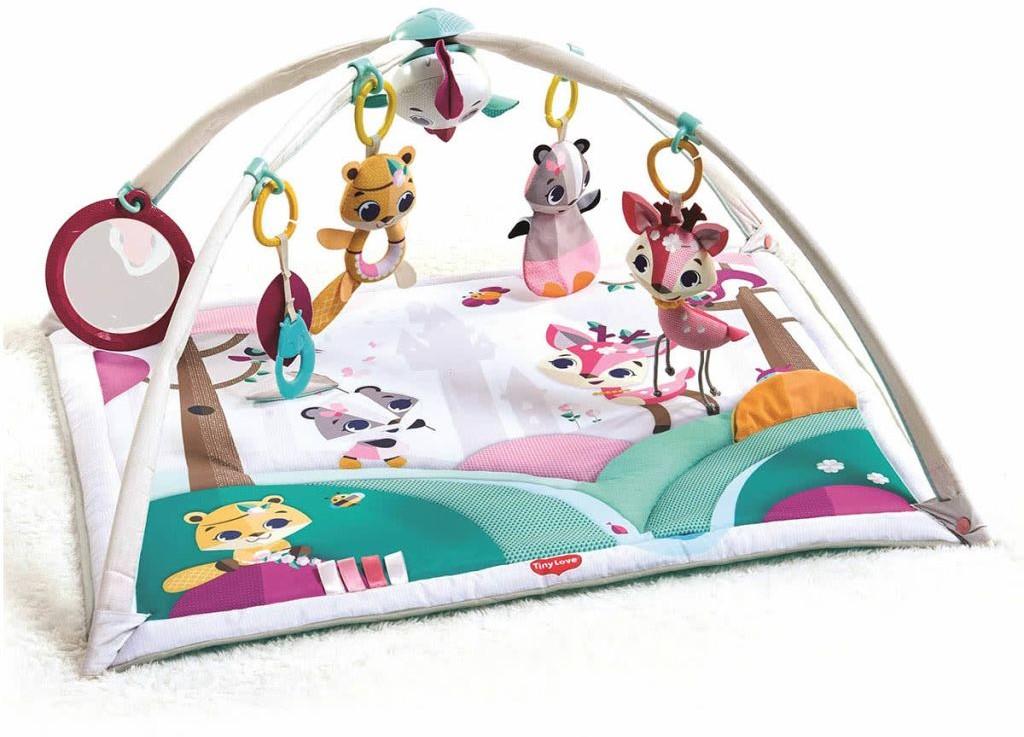 Tiny Love Gymini Mata edukacyjna Deluxe Princess, 86 x 78 37 cm Dorel