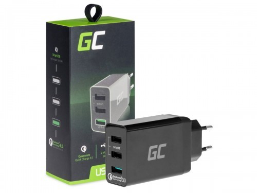 Green Cell Ładowarka 3xUSB Quick Charge 3.0 CHAR03