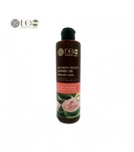 Ecolab Regenerujący aksamitny olej do kąpieli pod prysznic - meksykańska gujawa, makadamia, kompleks witamin - 3950-0