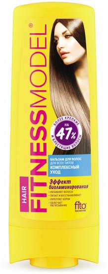 Fitokosmetik Fitokosmetik Fitness Model BALSAM DO WŁOSÓW KOMPLEKSOWA PIELĘGNACJA do wszystkich rodzajów włosów 200ml