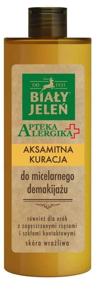 POLLENA Biały Jeleń Apteka Alergika Aksamitna kuracja do micelarnego demakijażu 400ml 808444