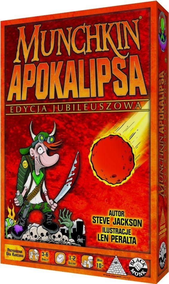 Black Monk Munchkin Apokalipsa - Edycja jubileuszowa