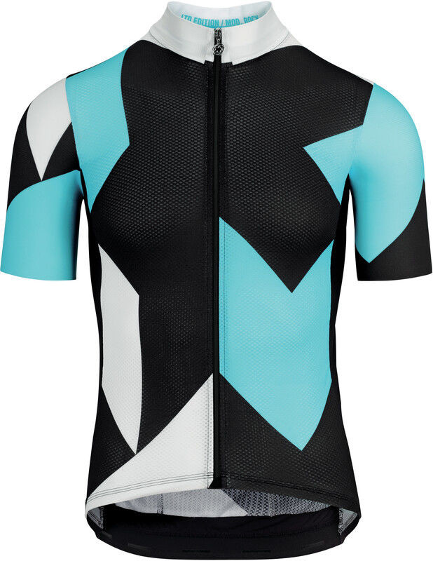 Assos Fast Lane Rock Koszulka z krótkim rękawem Mężczyźni, dam blue TIR 2020 Koszulki kolarskie 11.20.288.2E.TIR