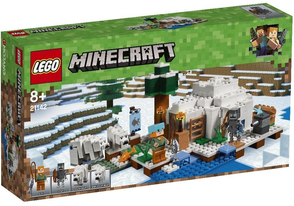 LEGO MINECRAFTi Igloo niedźwiedzia polarnego 21142