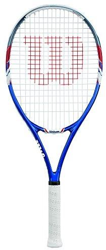Wilson damska/męska rakieta tenisowa, All Courter, US Open Adult, rozm. 3, niebiesko / czerwono / biała, WRT32560U3 10225
