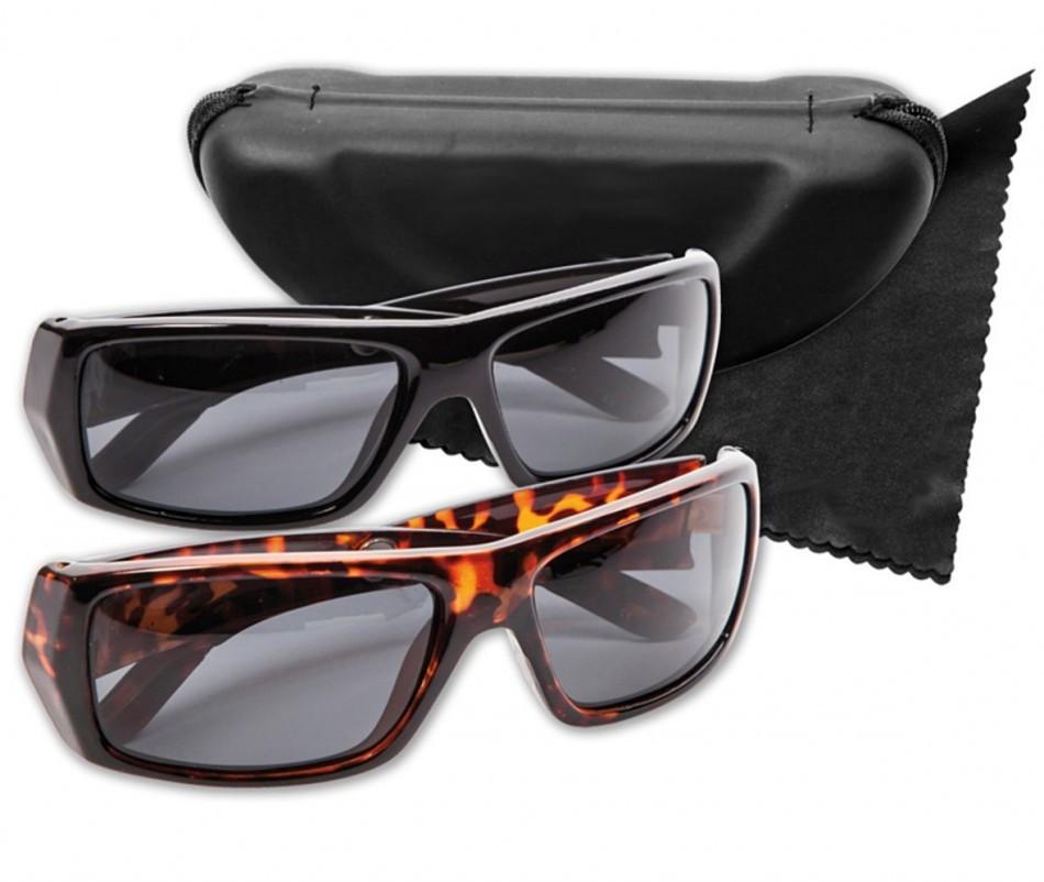 Stylion POLARYTE HD Okulary Czarne i Panterka przeciwsłoneczne POLARYTE HD
