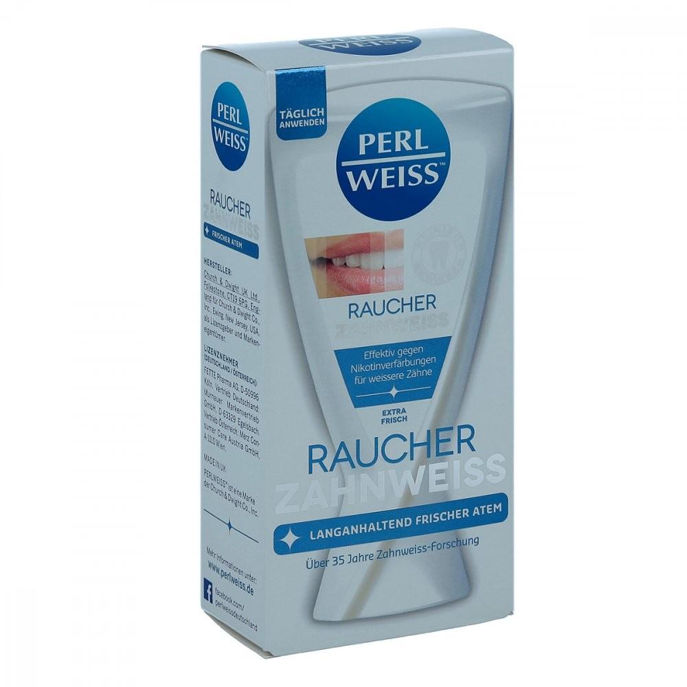 Fette Pharma AG Perlweiss Raucher Zahnweiss 50 ml