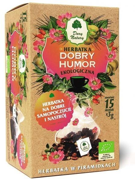 Dary Natury herbatka Dobry Humor EKO x 15 sasz | DARMOWA DOSTAWA OD 149 PLN!