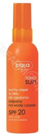 Ziaja Sopot Sun Suchy olejek w żelu Spf 20 90ml