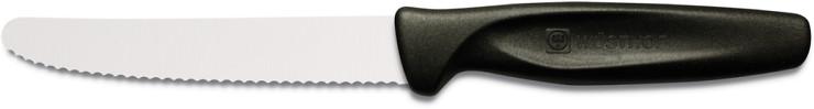 Wusthof Colour Nóż do warzyw ząbkowany czarny W-3003-10