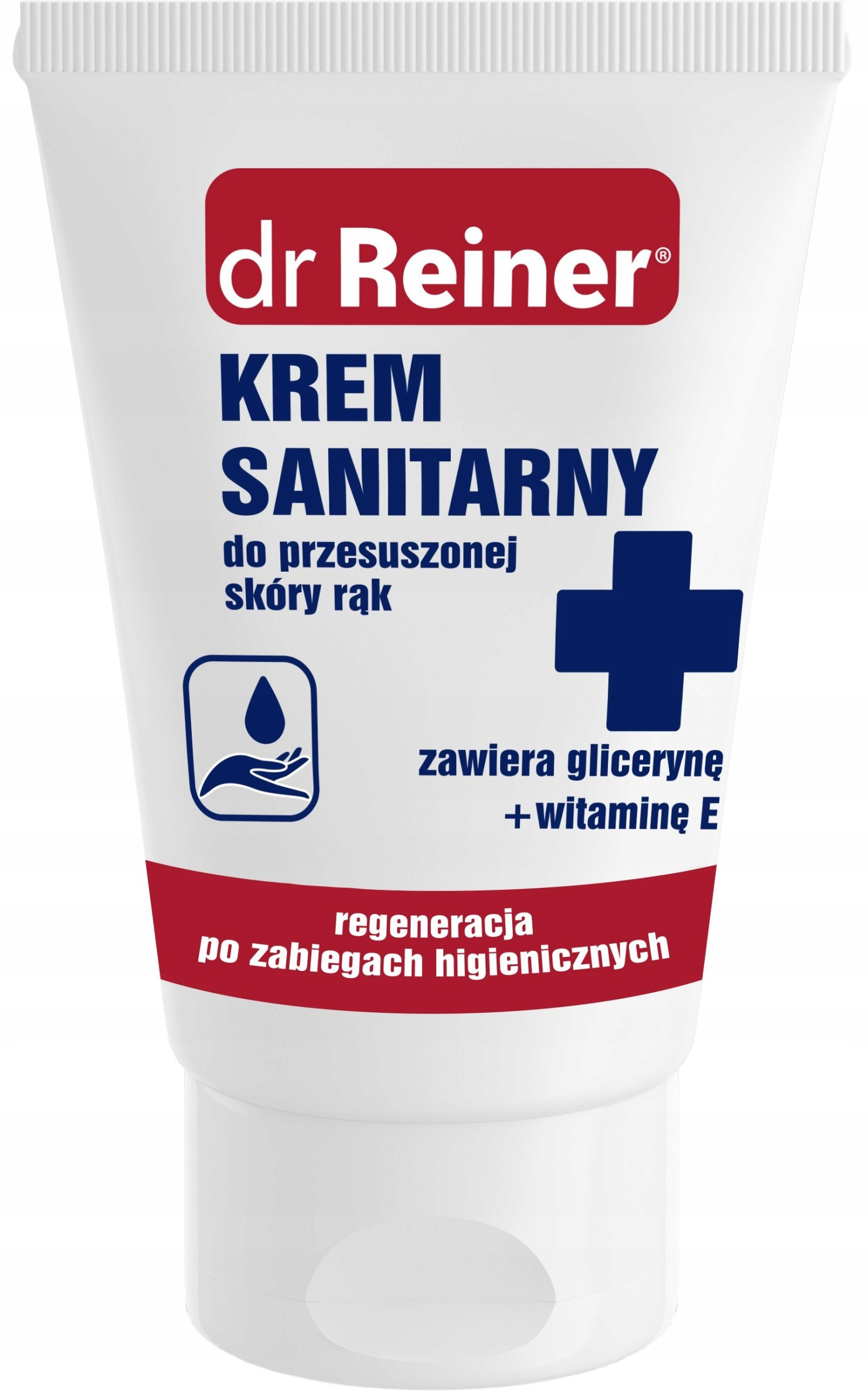 Dr Reiner Krem sanitarny do przesuszonej skóry rąk