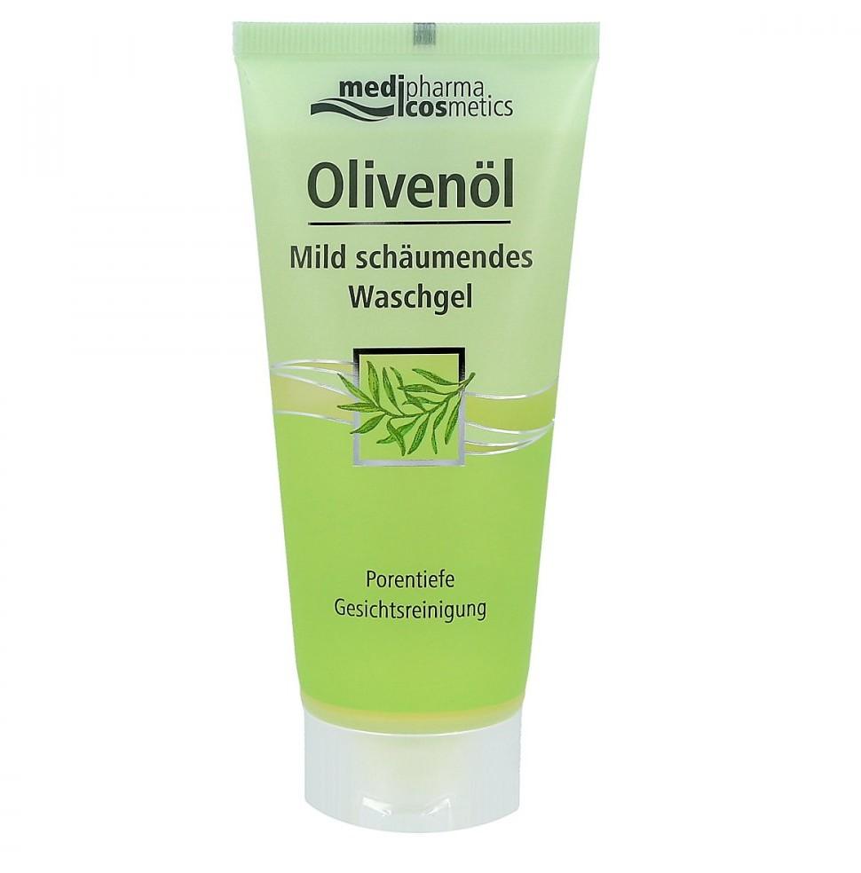 Dr. Theiss Naturwaren GmbH Olivenoel Mild pieniący żel z olejkiem oliwkowym 100 ml
