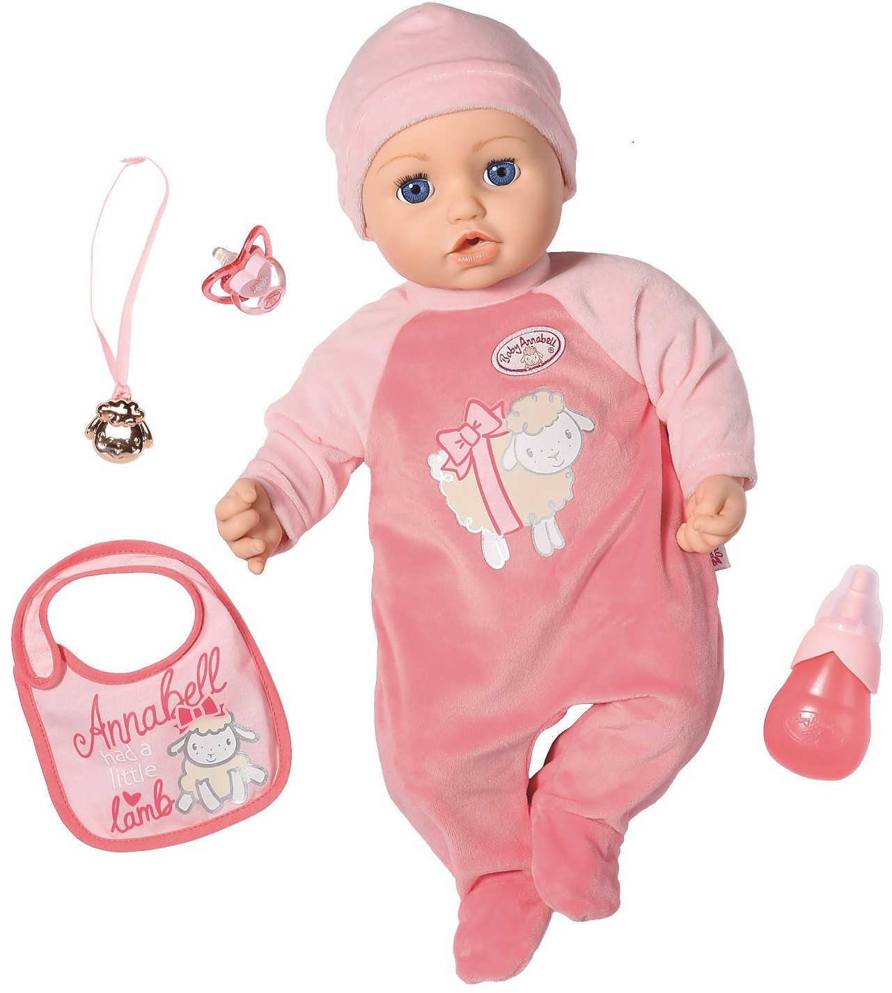 Zapf Creation Creation Baby Annabell Lalka z akcesoriami 46 cm