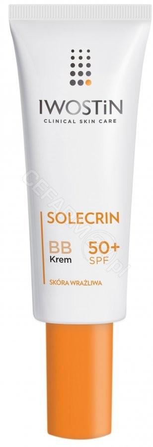 Iwostin SANOFI AVENTIS SP Z O.O Solecrin SPF 50 BB Krem wyrównujący koloryt 30 ml