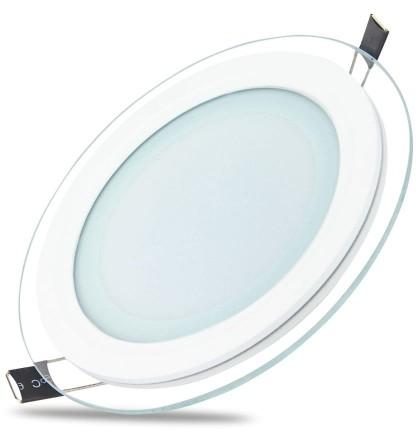 TelForceOne TelForceOne Oprawa Slim Glass round (18 W   3000 K) 8_2211501