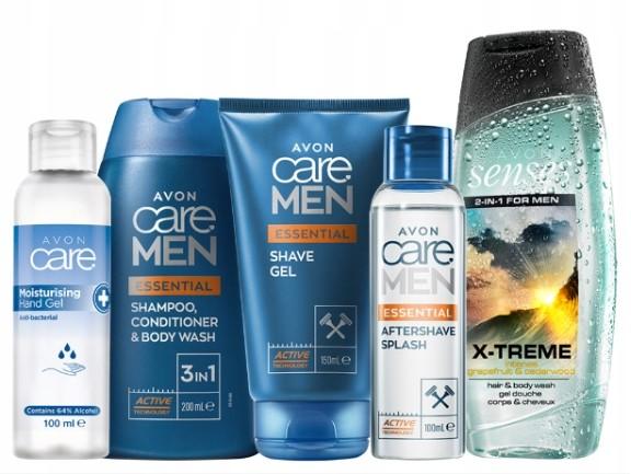 Avon avon_Zestaw kosmetyków dla mężczyzn_ 5 kosmetyków