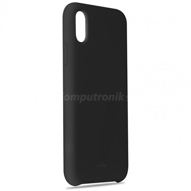 PURO ICON Cover Etui iPhone X czarny) Limited edition IPCXICONBLK