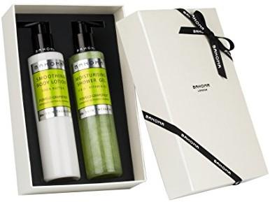 BAHOMA bahoma pomelo grejpfrutowy żel pod prysznic i balsam do ciała Gift Set, 1er Pack (1X 0.85kg) 305-RB-R520-R530