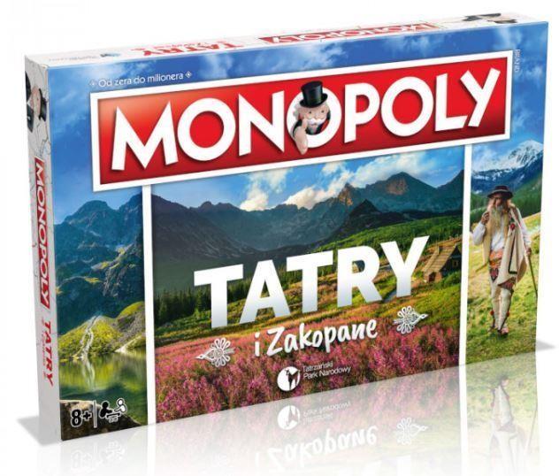 Winning Moves Monopoly Tatry i Zakopane